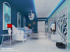 明亮北欧风格loft家居设计