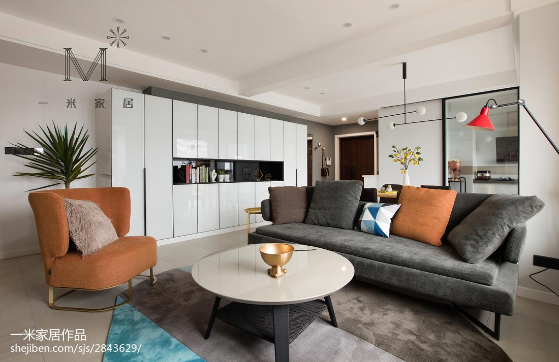 精选91平大小客厅三居现代装修设计效果图片大全客厅现代简约客厅设计图片赏析