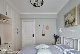 2018精选面积96平三居卧室装修设计效果图片大全