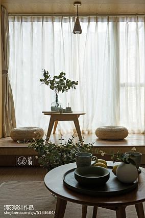 2018精选面积75平小户型客厅北欧效果图