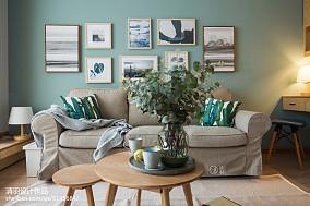 大气33平北欧小户型客厅装修图一居北欧极简家装装修案例效果图