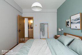 热门北欧小户型卧室装饰图片大全一居北欧极简家装装修案例效果图