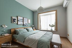 质朴26平北欧小户型卧室实拍图一居北欧极简家装装修案例效果图