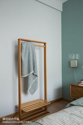 精美面积80平小户型卧室北欧欣赏图