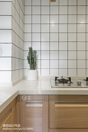 2018小户型厨房北欧装修效果图一居北欧极简家装装修案例效果图