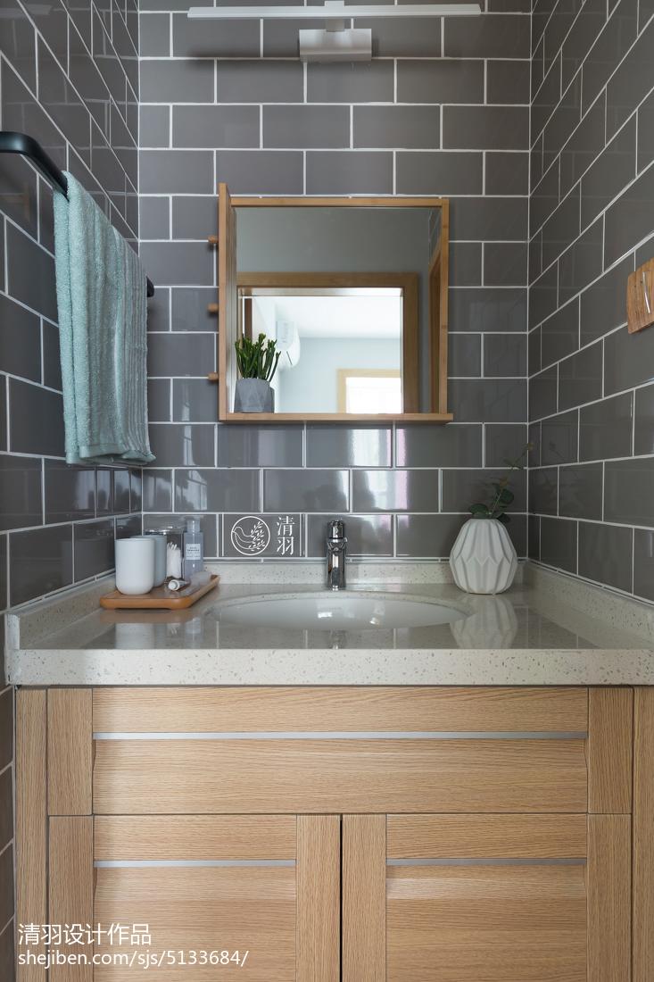 精选小户型卫生间北欧装修效果图片欣赏餐厅北欧极简厨房设计图片赏析
