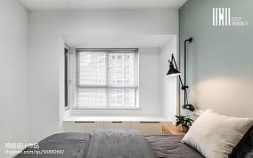 优美85平现代三居装潢图
