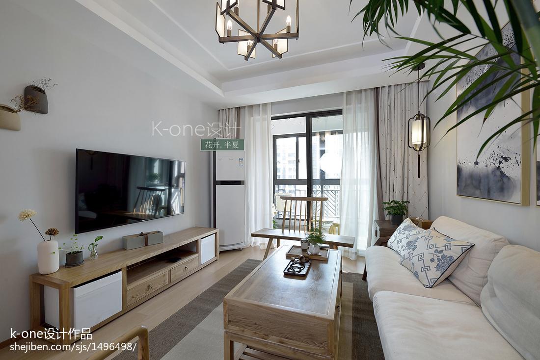 华丽125平中式三居客厅效果图片大全客厅中式现代客厅设计图片赏析