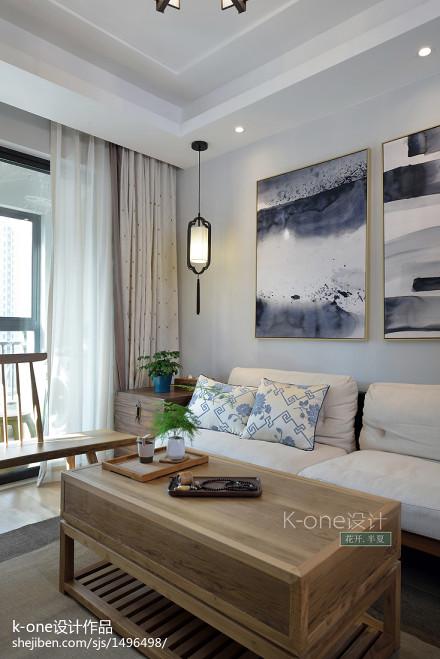 精美101平方三居客厅中式装修效果图客厅