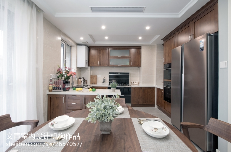 精选三居厨房混搭装修效果图片餐厅