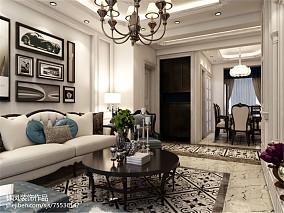 清新田园风格小三室两厅装修效果图