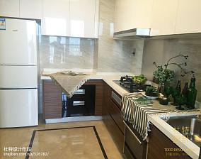 精选76平米二居厨房北欧效果图