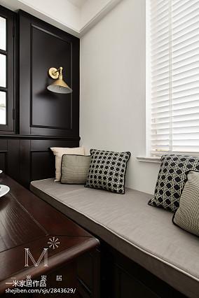 精致86平美式三居餐厅装修装饰图家装装修案例效果图