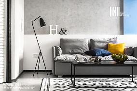 精选76平米二居客厅北欧装修设计效果图片