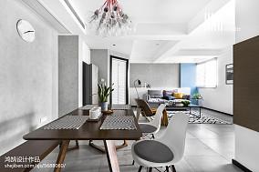 热门大小77平北欧二居餐厅装修设计效果图片大全二居北欧极简家装装修案例效果图
