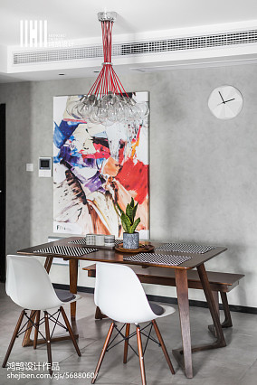 精选二居餐厅北欧装修图片二居北欧极简家装装修案例效果图