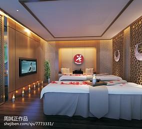 现代酒店房间设计图
