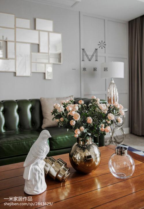 2018精选大小94平混搭三居客厅装修效果图客厅窗帘