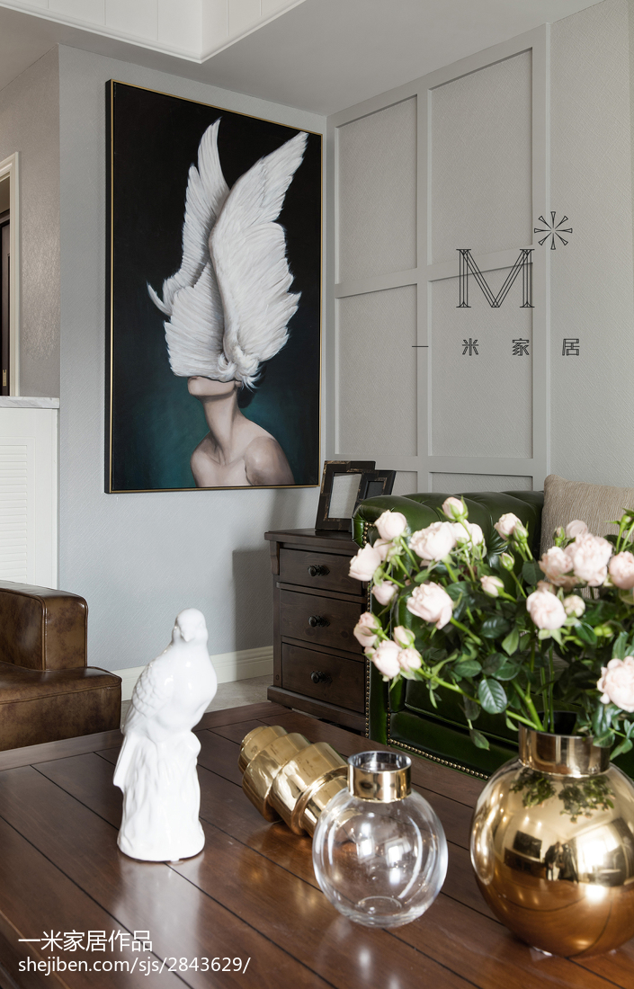 精选大小98平混搭三居客厅装修欣赏图片大全客厅