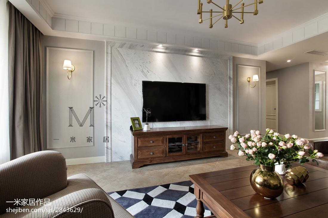 装饰客厅电视背景墙客厅潮流混搭客厅设计图片赏析