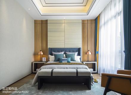 热门中式卧室效果图片卧室