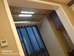 精美现代三居阳台装修欣赏图片
