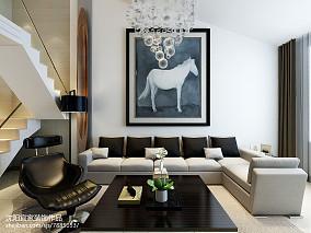 美式别墅室内装潢效果图