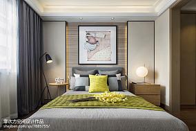 北欧卧室床头背景墙