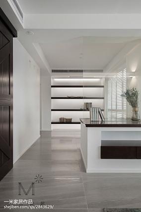 优美121平中式三居休闲区装修装饰图