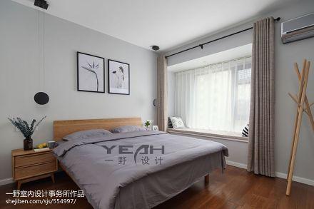 北欧卧室窗台卧室