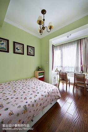 明亮77平美式三居设计美图卧室美式经典设计图片赏析