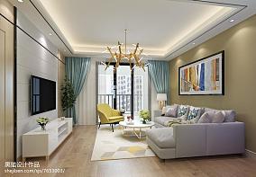 南意大利地中海风格两室两厅装修效果图