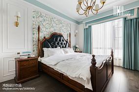 精选109平米三居卧室美式装修欣赏图片大全