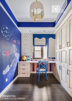 精选三居儿童房美式装修效果图片欣赏