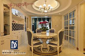 美式豪华别墅装修设计效果图大全欣赏2015