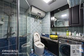 温馨88平中式三居装修图