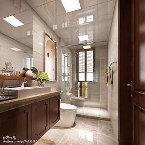 94平米现代温馨风格两室两厅家居装修效果图