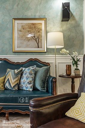 精选104平米三居客厅美式效果图片欣赏