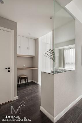 2018精选面积105平现代三居卧室效果图三居现代简约家装装修案例效果图
