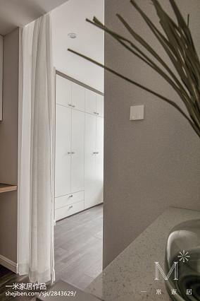 精美103平米三居卧室现代装修效果图家装装修案例效果图