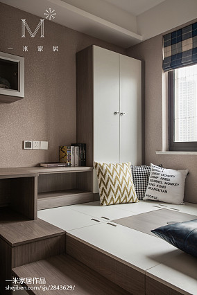 热门107平米三居阳台现代实景图片欣赏家装装修案例效果图