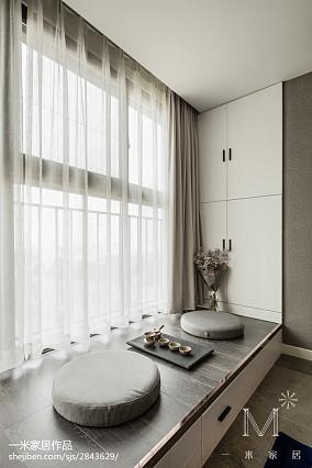 精致96平现代三居图片欣赏三居现代简约家装装修案例效果图