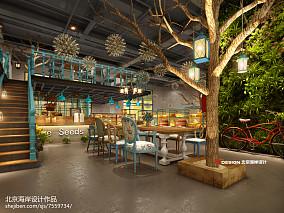 机器人儿童主题餐厅设计