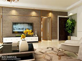 2018简约家居风格两室两厅户型室内设计
