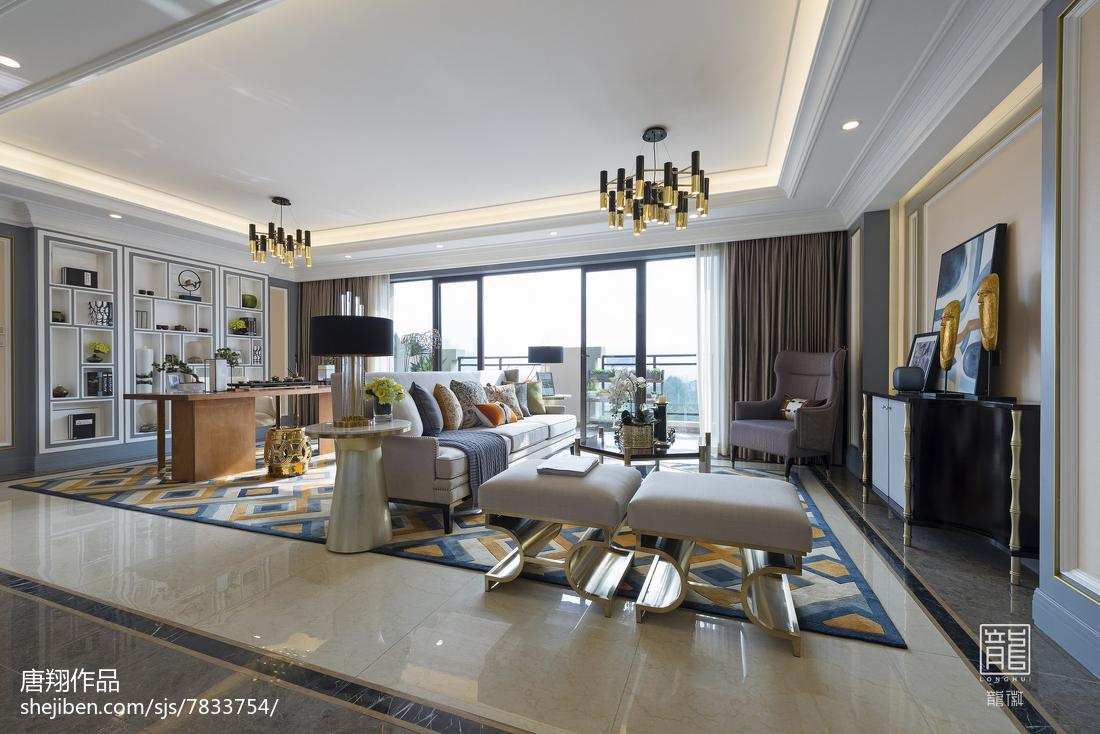 客厅家具地垫客厅现代简约客厅设计图片赏析