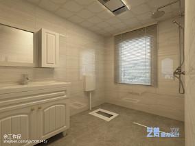 热门简约小户型卫生间设计效果图