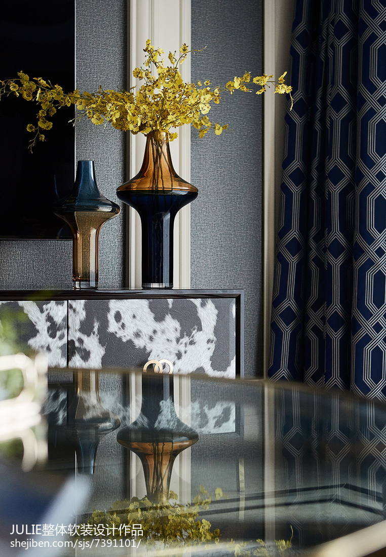 精致96平新古典四居客厅实景图片客厅美式经典客厅设计图片赏析