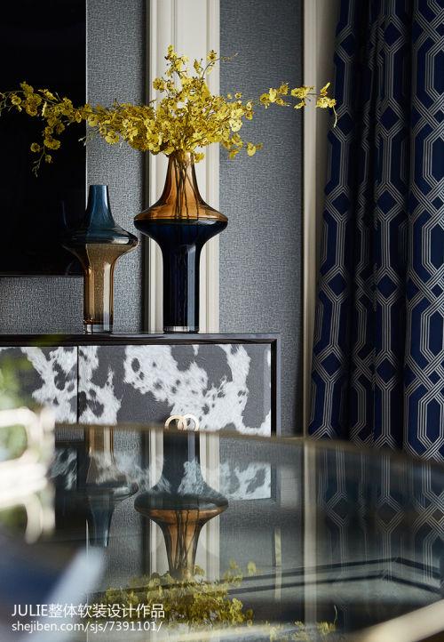 精致96平新古典四居客厅实景图片客厅