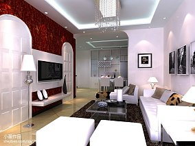 精美面积70平中式二居装饰图片