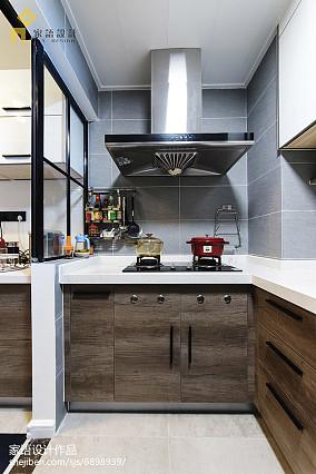 精美大小94平北欧三居厨房装修实景图片大全